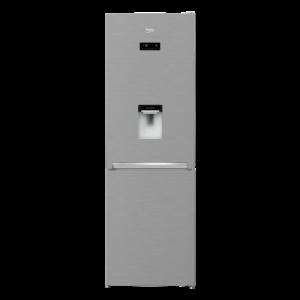 Beko MCNA366E40 DXBN alulfagyasztós hűtőszekrény 5 év garanciával A++ inox