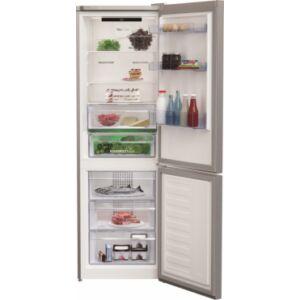 Beko RCNA366E40DZXBN alulfagyasztós hűtőszekrény 5 év garanciával