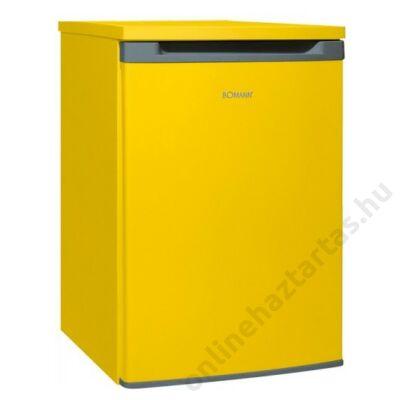 Bomann-VS-354-yellow-hűtőszekrény