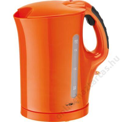 Clatronic WK 3445 orange 1,7L 2200W vízforraló