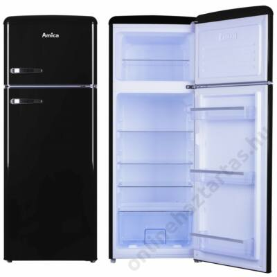 Amica-KGC-15634-S-Retro-hűtőszekrény
