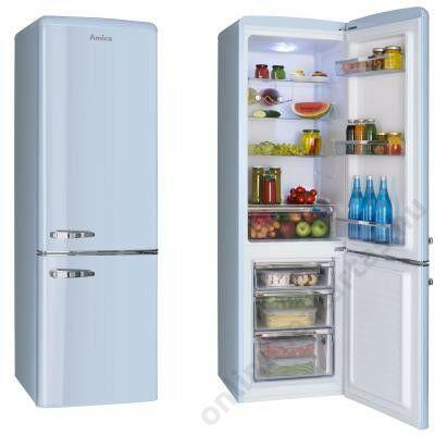 Amica-FK2965-3LAA-Kombinált-hűtőszekrény
