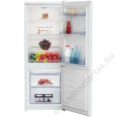 Beko RCSA225K20 W alulfagyasztós fehér hűtőszekrény 2 év garanciával