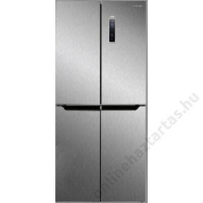 Navon H SBS 337FX multi door hűtőszekrény 225L+112 liter inox A+ NoFrost 3 év garancia