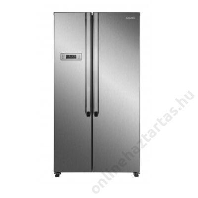 Navon H SBS 436F X amerikai hűtőszekrény 291L+145 liter inox A+ NoFrost 3 év garancia