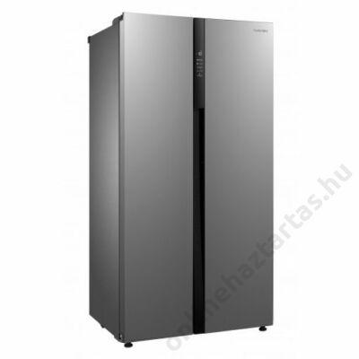 Navon H SBS 521F X amerikai hűtőszekrény 344L+177 liter inox A+ NoFrost 3 év garancia