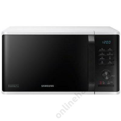 Samsung MG23K3515AW/EO mikrohullámú sütő fehér 23 literes grill 2 év garancia