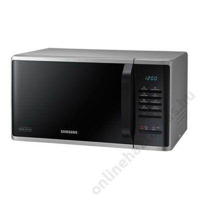Samsung MS23K3513AS/EO mikrohullámú sütő 23 literes ezüst 2 év garancia