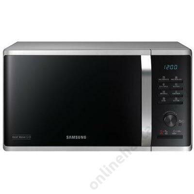 Samsung MG23K3575AS/EO mikrohullámú sütő ezüst 23 literes 2 év garancia