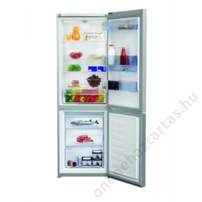 Beko RCSA365K20 DS alulfagyasztós hűtőszekrény 2 év garanciával