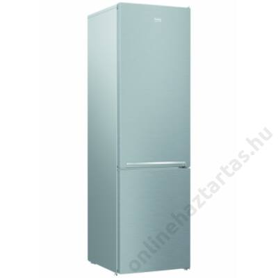 Beko RCSA406K30 XB inox alulfagyasztós hűtőszekrény 2 év garanciával