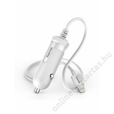 hama-lightning-apple-kompatibilis-szivargyujtós-töltő