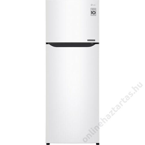 LG GTB382SHCZD felülfagyasztós hűtőszekrény NoFrost 209 liter A++
