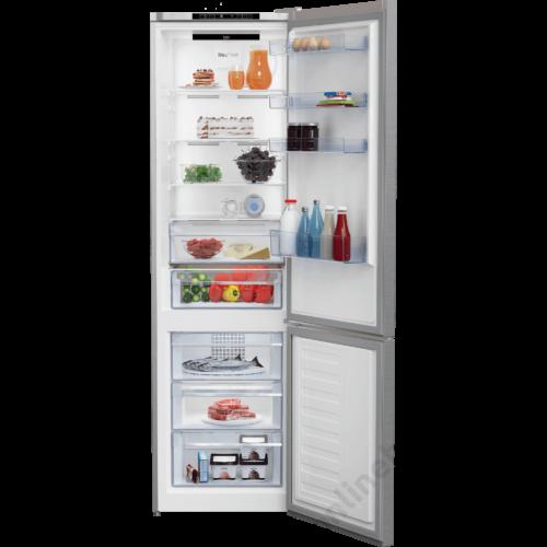 Beko MCNA406I40 XB alulfagyasztós NoFrost hűtőszekrény 5 év garanciával