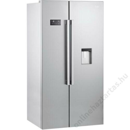 Beko GN163220 S side by side hűtőszekrény 5 év garanciával NoFrost A+