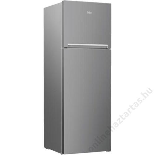 Beko RDSA310M30 XBN felülfagyasztós hűtőszekrény INOX A+ 2 év garanciával