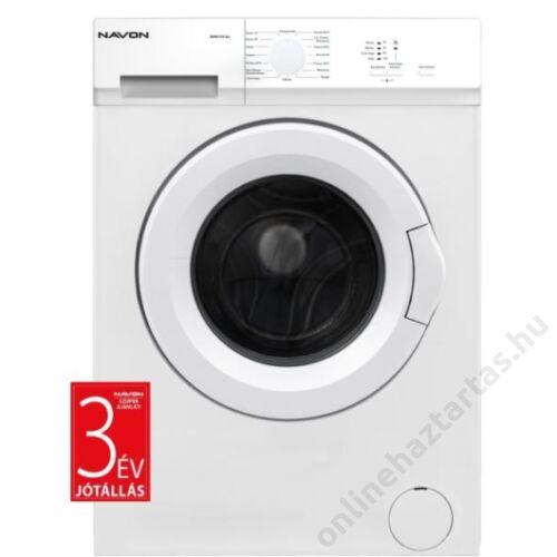 Navon WMN510AA előltöltős mosógép 5kg 1000 ford/perc A++ 3 év garanciával