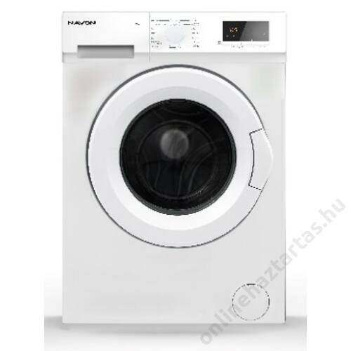 Navon WMS610AAA előltöltős mosógép 6kg 1000 ford/perc A++ 3 év garanciával