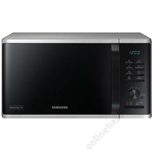 Samsung MG23K3515AS/EO mikrohullámú sütő ezüst 23 literes 2 év garancia
