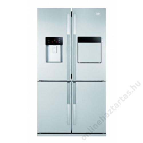 Beko GNE134620 X side by side hűtőszekrény 5 év garanciával