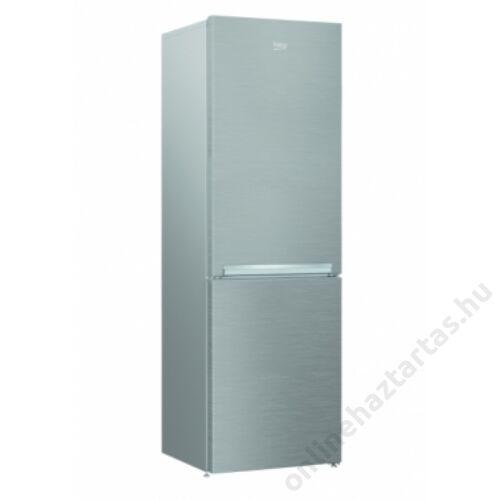 Beko RCSA330K30 PT alulfagyasztós inox hűtőszekrény 2 év garanciával