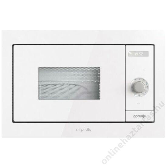 Gorenje-BM235SYW-fehér-beépíthető-mikrohullámú-sütő